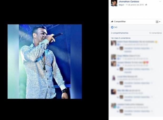 Cantor sertanejo é encontrado morto atrás do palco após show